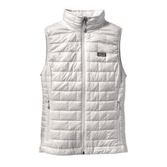 Patagonia Women's Nano Puff Vest- Birch White from Shop Southern Roots TX