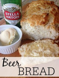 Looking for an easy meal for your family? Try this delicious beer bread with some soup. The whole family will love it.