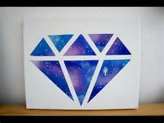 galaxy poster  Just paint any shape you want in galaxy and let it dry and your done