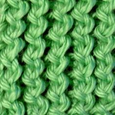 1000+ images about Textured & Cable Stitches on Pinterest Stitches, Rib...