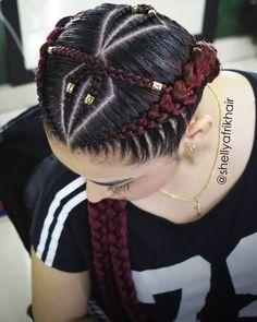 #afrikhair #braids #marcamosestilo #trenzas #trenzasmedellin #braiding #cornrows #bananabraids #peinadosafro #peloafro #culturaafro… 2 Braids, Girls Braids, Pretty Hairstyles, Braided Hairstyles, Curly Hair Styles, Natural Hair Styles, Boxer Braids, Pelo Afro, Black Girl Braids