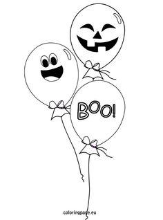 Printable Halloween Banner coloring  Halloween  Pinterest