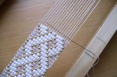 Beam loom bracelet pattern