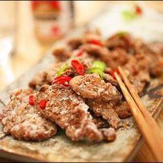 다츠타아게 소고기녹말튀김 Sogoki Tuigim-ish Crispy Beef