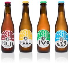 BYVOLUME - ORBIT BEERS #packaging #design #diseño‬ #empaques #embalagens‬ #дизайна #упаковок #パッケージデザイン‬ #emballage‬ #worldpackagingdesign #bestpackagingdesign #worldpackagingdesignsociety