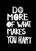 Happiness is doing what you love :)