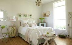 romantic prairie bedroom