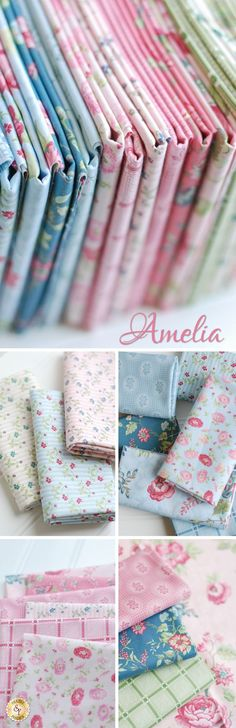 Amelia by Penny Rose Studio for Riley Blake Designs is a pretty floral fabric collection available at Shabby Fabrics!