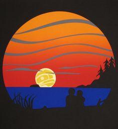 Sea Bunse, this evokes Ted Harrison