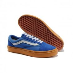 Vans Shoes Blue Syndicate Golf Wang Old Skool Shoes Unisex Classic Canvas  Cheap Van 3e62d2f3b