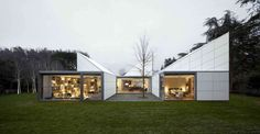 Origami House by OAB Carlos Ferrater - Spain