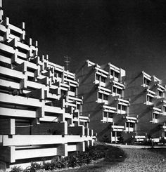 Hostel and Apartments for Scientists, Munich, Germany, 1970 (Walter Ebert)
