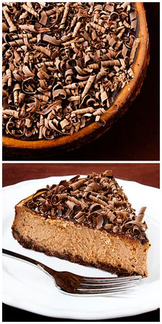 Bailey's Chocolate Cheesecake --