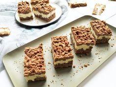 Recept: Cukormentes reszelt túrós sütemény   Stop Sugar Healthy Cake, Healthy Recipes, Healthy Food, Sugar Free, Paleo, Sweet Tooth, Lose Weight, Low Carb, Snacks