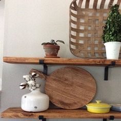 Julie Farro added a photo of their purchase Wooden Shelves, Floating Shelves, Steel Shelf Brackets, Coffee Table Legs, Drill Set, Iron Shelf, Great Wedding Gifts, New Home Gifts, New Homes