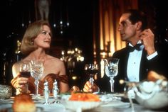"""Glenn Close & Jeremy Irons in """"Reversal of Fortune""""   (1990)   Jeremy Irons - Best Actor 1990"""