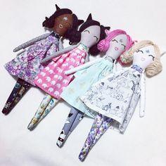 See this Instagram photo by @laurelandaurora #doll #pixie #craft #sew #clothdoll #cat