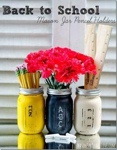Make Back to School Mason Jars | Dollar Store Mom Frugal Fun – Crafts for Kids
