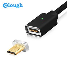 Elough E05 Unique USB Cable Magnetic Charger Cable For Xiaomi Huawei HTC Android Mobile Phone Fast Charge Magnet Micro USB Cable  Price: 5.39 USD