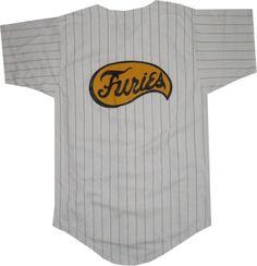 The Warriors Furies Pinstriped Baseball Jersey (Mens Small) The Warriors  http    5f3e83e9c