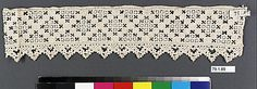 Lace, 16th century, Italian, Metropolitan Museum of Art 79.1.89