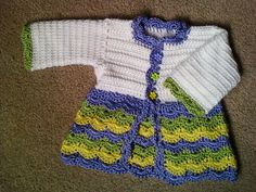 Free Easter Sweater Pattern- Started this pattern and it crochets quite big. Did not finish because I needed a smaller project :)