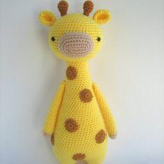 little bear crochetters patron girafa amigurumi