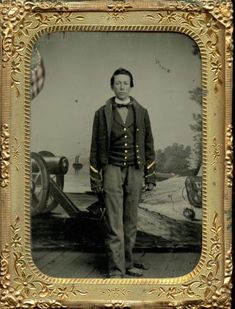 1-4-Plate-Tintype-St-Louis-Benton-Barracks-Civil-War-Soldier