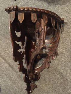 Vintage Wood Casket Crafts 60S Black Forest Blackforest