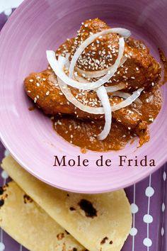 Frida Kahlo's Pueblan Mole Recipe by TastyTrix.blogspot.com