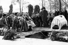 The funeral of Polish interior minister Bronisław Pieracki in 1934