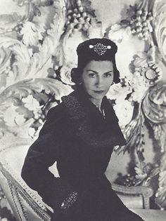 Dark Beauty Horst P. Horst's photograph of Coco Chanel,...