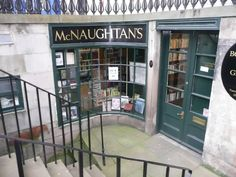McNaughtan's Bookshop Edinburgh, one time workplace and best bookshop ever