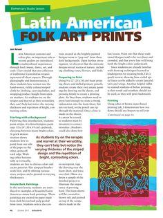 Cool printmaking idea