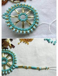 1 million+ Stunning Free Images to Use Anywhere Beaded Earrings Patterns, Seed Bead Earrings, Beading Patterns, Jewelry Making Tutorials, Beading Tutorials, Wire Jewelry Designs, Knitted Necklace, Diy Jewelry Inspiration, Earring Tutorial