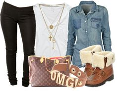 """Pretty Girl Swag"" by miizz-starburst ❤ liked on Polyvore"