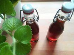 Domácí sirup z rýmovníku - recept krok po kroku - Bylinkovo.cz Smoothie Drinks, Smoothies, Art Of Glass, Wild Edibles, Weight Watchers Meals, Hot Sauce Bottles, Remedies, Good Food, Food And Drink