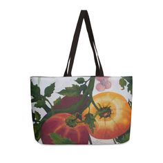 "Garden Goods ""You Say Tomato"" Accessories Bag by Ruby Charm Colors Artist Shop"