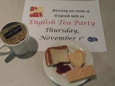 Learning about England with an English Tea Party