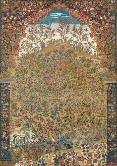 look at the detail! Iranian Art, Textile Texture, Ethnic Print, Hindu Art, Book Illustration, Islamic Art, Rugs On Carpet, Contemporary Art, Abstract Art
