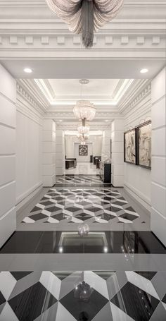 Eye Catching Tile Patterns: Create any look from classic to trendy to avant garde with this tutorial. tile pattern options all in one place. Floor Patterns, Tile Patterns, Floor Design, Ceiling Design, Dal Tile, Home Decor Hooks, Classic Ceiling, Hallway Designs, Stone Flooring