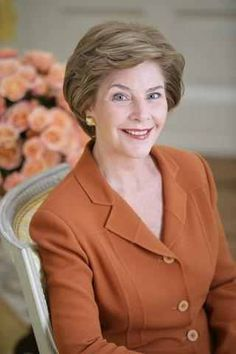Laura Lane Welch (born November 4, 1946) - wife of George W. Bush, the 43rd President of the United States.
