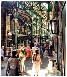 Borough Market, London. I love this place :-)