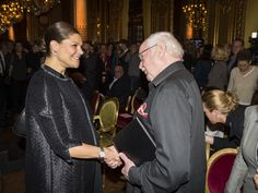 Crown Princess Victoria delivered scholarships from the foundation Micael Bindefeld in memory of the Holocaust