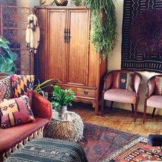 TAJ HOTEL - colored living room - bohemian style - vintage.