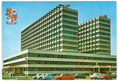Spitalul Judetean Baia Mare Multi Story Building, Vintage, Vintage Comics