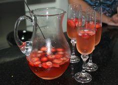 Jantar com os amigos p1 Drink morango