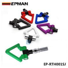 EPMAN Japan Models Car Racing Screw Aluminum CNC Triangle Ring Tow Towing Hook JDM RACE For Honda Toyota EP-RTH001SJ