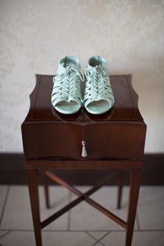 My shoes. Our wedding 10.11.14