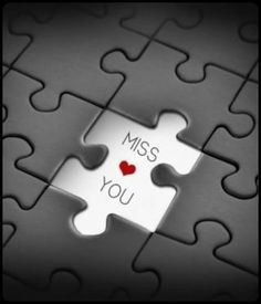 Discover and share Quotes About Missing Puzzle Pieces. Explore our collection of motivational and famous quotes by authors you know and love. I Miss You Quotes, Missing You Quotes, Love Quotes, Romantic Quotes, Puzzle Piece Crafts, Puzzle Pieces, Love Wallpaper, Iphone Wallpaper, Missing My Son